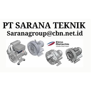PT SARANA TEKNIK ELMO RIETSCHLE BLOWER GEAR MOTOR SIDE CHANNEL