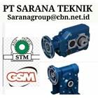 GEAR MOTOR STM WORM GEARBOX DRIVE PLANETARY PT SARANA MOTOR 1