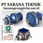 PLANETARY GEARBOX STM WORM GEAR DRIVE PT SARANA GEAR MOTOR 1