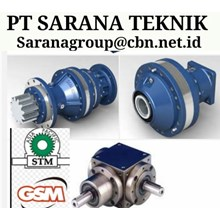 PLANETARY GEARBOX WORM GEAR DRIVE STM PT SARANA GE