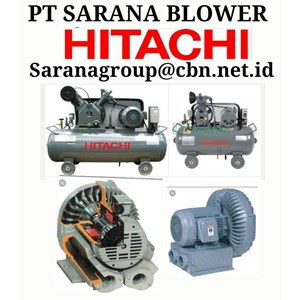 AIR COMPRESSOR HITACHI BLOWER VORTEX RB PT SARANA TEKNIK BEBICON