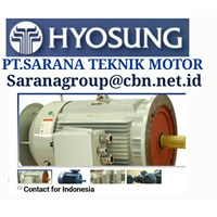 HYOSUNG ELECTRIC IEC MOTOR MEDIUM VOLTAGE MADE IN KOREA PT SARANA TEKNIK