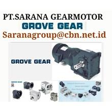 GROVE GEAR REDUCER PT SARANA GEAR MOTOR GROVE WORM GEAR