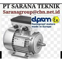 EXPLOSION PROOF MOTOR ELPROM FRAME PROOF MOTOR PT SARANA TEKNIK