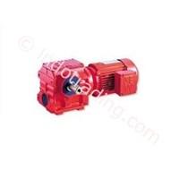 Helical Worm Gear Unit Dan Gear Motor Merk Sew Eurodrive  1