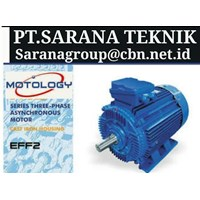 MOTOLOGY ELECTRIC AC MOTOR  PT SARANA GEAR MOTOR 3 PHASE 50 HZ