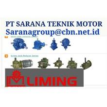LIMING GEAR MOTOR GEAR REDUCER PT SARANA TEKNIK GEAR MOTOR