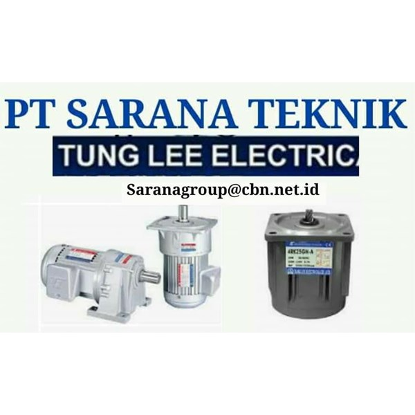 TUNG LEE GEARHEAD GEARMOTOR REDUCER GEARBOX PT SARANA DC GEAR MOTOR