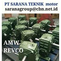 REVCO GEARMOTOR REDUCER GEARBOX PT SARANA TEKNIK TYPE WPA WPO WPX