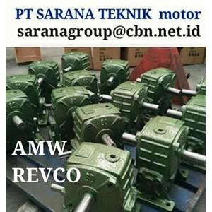 AMW GEARMOTOR REDUCER GEARBOX PT SARANA TEKNIK TYPE WPA WPO WPX