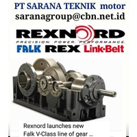 LINKBELT REXNORD FALK GEARMOTOR REDUCER GEARBOX PT SARANA TEKNIK