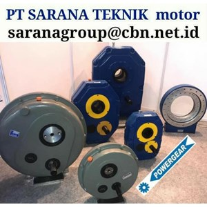 PT SARANA TEKNIK MOTOR POWERGEAR SHAFT MOUNTED SPEED GEAR REDUCER GEARBOX