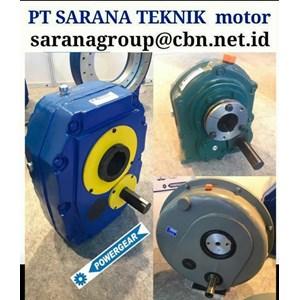 POWERGEAR SHAFT MOUNTED SPEED GEAR REDUCER GEARBOX PT SARANA TEKNIK