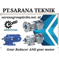 NORD GEARBOX HELICAL MOTOR PT SARANA TEKNIK