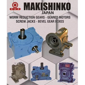 MAKISHINKO HELICAL GEAR BEVEL PT SARANA TEKNIK MOTOR