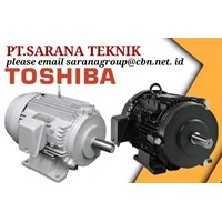 TOSHIBA ELECTRIC MOTOR AC PT SARANA TEKNIK