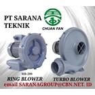 CHUAN FAN RING BLOWER TURBO PT SARANA TEKNIK BLOWER TYPE RB 1