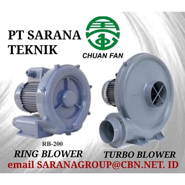 CHUAN FAN RING BLOWER TURBO PT SARANA TEKNIK BLOWER TYPE RB