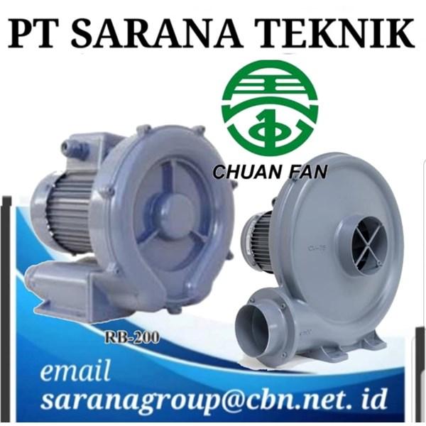 PT SARANA TEKNIK RING BLOWER CHUAN FAN & TURBO BLOWER CHUAN FAN