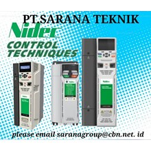 INVERTER DRIVES CONTROL TECHNIQUES NIDEC PT SARANA