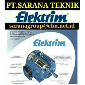 ELEKTRIM CANTONI ELECTRIC AC MOTORS