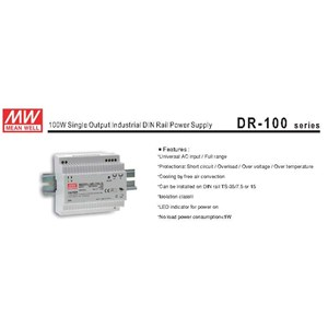 Switching Power Supply DR 100