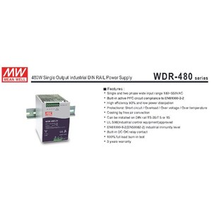 Switching Power Supply  WDR 480