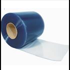 PVC Strip Curtain Blue Clear 1