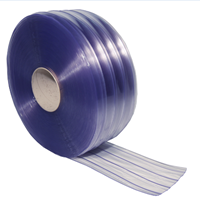 Jual PVC Strip Curtain Ribbed