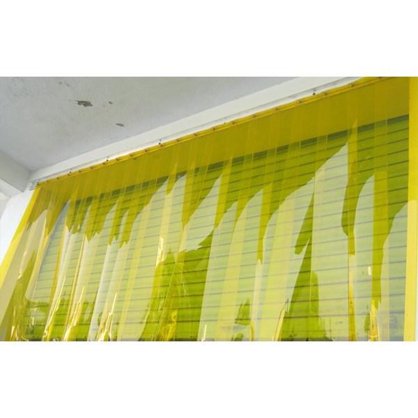 tirai Plastik pvc Curtain kuning( yelow)