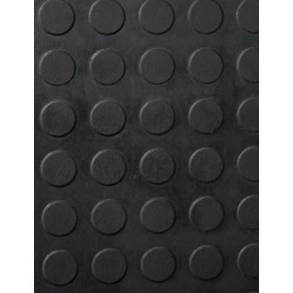 karet koin hitam