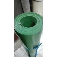 karet hijau sheet