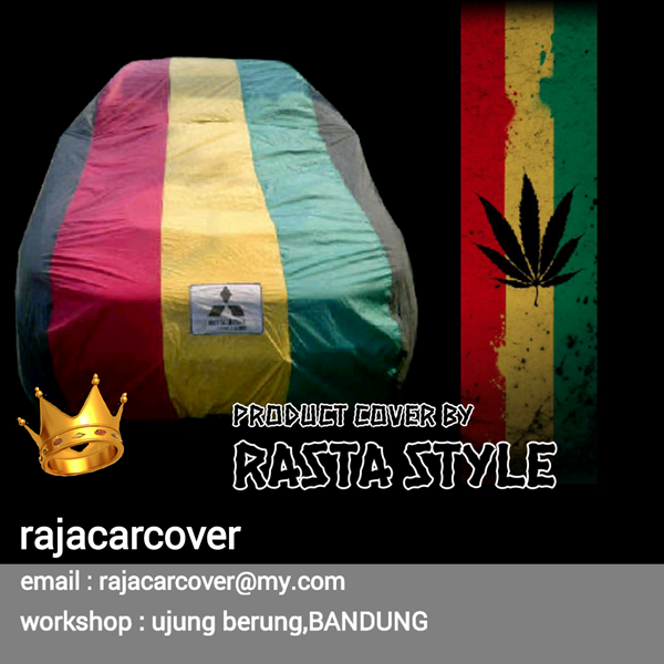Cover Mobil Lancer Evo IV Three Colour