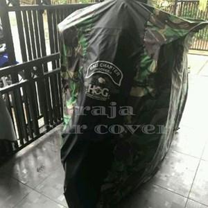 Cover Motor Harley Davidson Type Warna Tentara