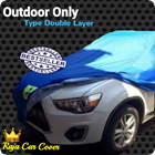 Special Outdoor Car Covers For Double Layer 1