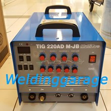 Mesin Las Multipro TIG 220 AD M-JB - Mosfet Inverter AC-DC