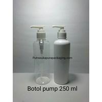 Botol Lotion Pump 250ML HS 1