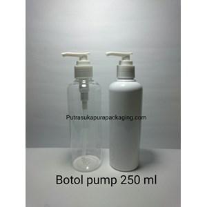 Botol Lotion Pump 250ML HS