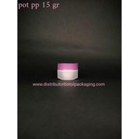 Pot PP Bunga 15 gr Purple Natual 1