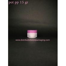 Pot PP Bunga 15 gr Purple Natual