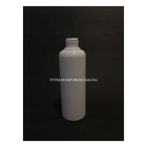 Botol PET 250 ml Putih Solid Neck 24 Tanpa Tutup