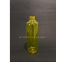 Botol PET 250 ml Kuning Neck 24 Tanpa Tutup