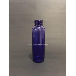 Botol PET 100 ml Neck 24 Violet / Ungu Tanpa Tutup