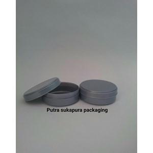 Pot Lulur 100 Gram Abu Abu Atau Pot Cream