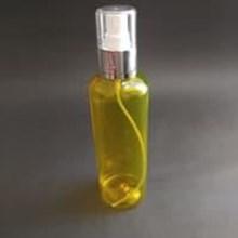Botol Spray 250 ml Kuning Tutup Aluminium Silver