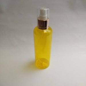 Botol Spray 250 ml Kuning Tutup Aluminium Gold