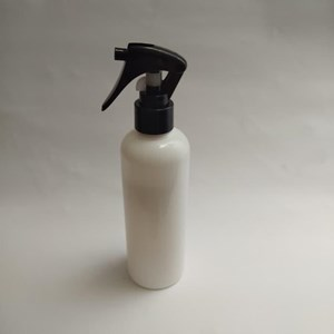 Botol Spray Mini Trigger 250 ml Putih Tutup Hitam