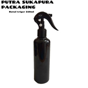Botol Spray Trigger 250 ml Hitam