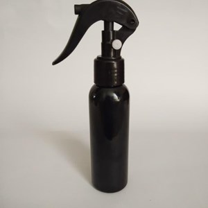 Botol Plastik Trigger Spray 100ml Hitam