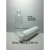Botol Fliptop 250ml Warna Putih 1